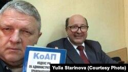 Владимир Владимиров (слева)