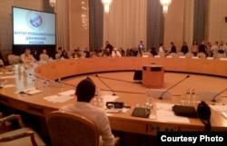 """Участники конференции """"Диалог наций"""" в Москве. 20 сентября"""