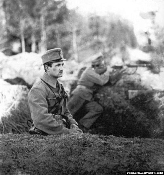 Антін Артимович – четар УСС. Карпати, гора Маківка, 1915 рік