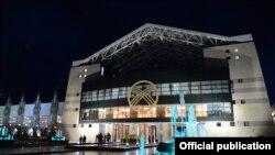 Основная арена II Всемирных игр кочевников.