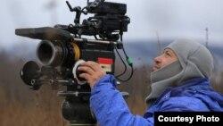 Рияз Исхаков кино төшергәндә