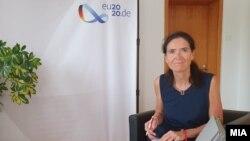 Германската амбасадорка во Северна Македонија Анке Холштајн