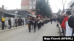 Ispraćaj tela Olivera Ivanovića u Severnoj Mitrovici