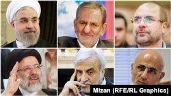 Шість кандидатів на посаду президента Ірану