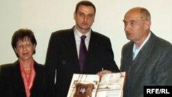 Slobodanu Pejoviću uručena je nagrada za građansku hrabrost, 23. febraur 2010. Fotografije: Marija Arnautović