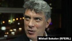 Борис Немцов в московском бюро Радио Свобода в ноябре 2014 года.