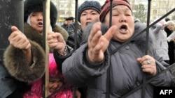 Үч депутаттын тарапкерлеринин митинги, 25-январь, 2013-жыл