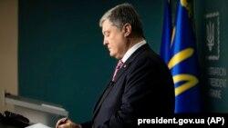 Украин президенти Петро Порошенко.