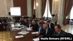 Imagine de la negocierile de astăzi de la Chișinău
