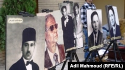 من معرض لصور فنانين عراقيين
