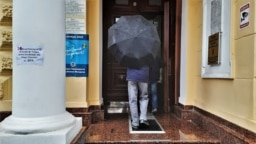 Избирательный участок в Кишиневе для голосования жителей Приднестровья