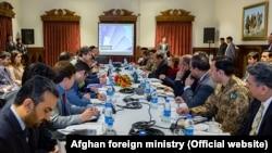 دیدار مقامات افغان و پاکستانی در کابل