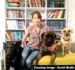 Виктория Павленко и ее собаки