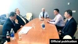 Nikola Dimitrov and Nikos Kotzias - Second day of name issue negotiations in New York