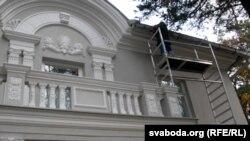 Рэстаўрацыя дома Якуба Коласа