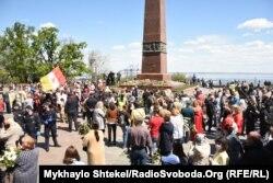 Відзначення 9 травня 2020 року в Одесі