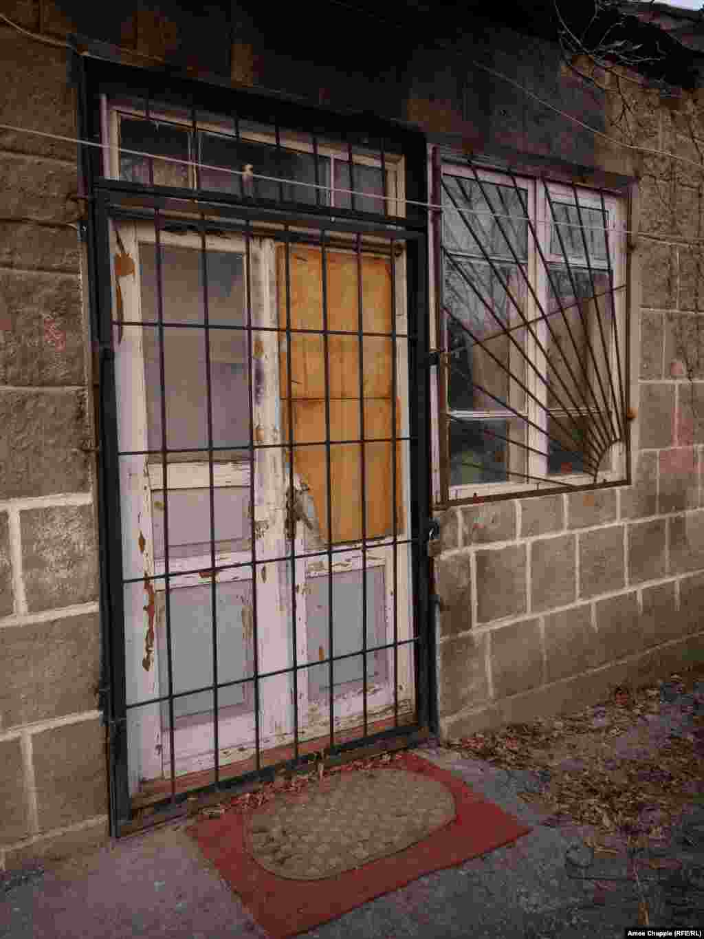 "Permyakov is alleged to have entered an unlocked security gate and then smashed through this door to gain entry to the home. To get there he is believed to have wandered more than 4 kilometers in the early hours of January 12 in freezing temperatures, armed with an AK-74 assault rifle. On capture the 18-year-old reportedly claimed he was looking for ""a glass of water"" and started shooting inside the house after he was refused."