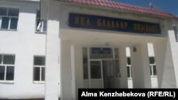 Школа в аульном округе Жанарык. Кызылординская область, 25 июня 2014 года.