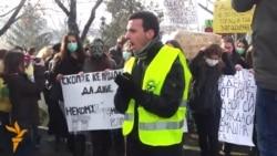 Протест за чист воздух во Скопје