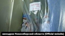 Коронавирусный госпиталь (архивное фото)