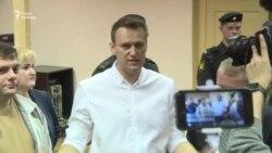 Суд у Росії засудив опозиціонера Навального до 5 років умовно (відео)