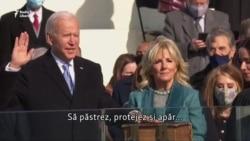Momentul în care Joe Biden este învestit ca președinte al SUA