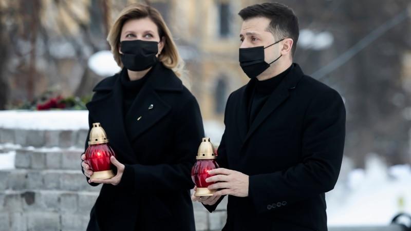 Ukraine Marks Seventh Anniversary Of Euromaidan Bloodshed