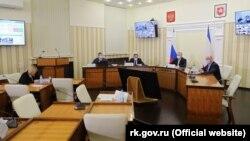 Нарада про реалізацію інфраструктурних проєктів у Криму, 11 березня 2020 року