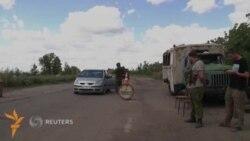 Донецк яқинидаги блокпостда 20 соат кутишга тўғри келмоқда