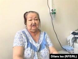 72-летняя Несибели Байжанова находится в реанимации более десяти дней