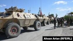 پکتیا کې افغان امنیتي ځواکونه د عملیاتو پر مهال