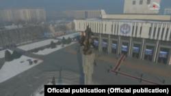 Бишкектин борбордук бөлүгү.