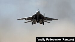 A Russian-made MiG-29 fighter jet (file photo)