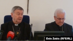 Josip Mrzljak i Franjo Komarica, 21. ožujak 2011. foto: Enis Zebić