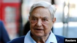 George Soros, američki milijarder, filantrop i utemeljivač Centralnoevropskog Univerziteta i Fonda za otvoreno društvo