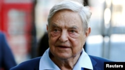 George Soros (file photo)