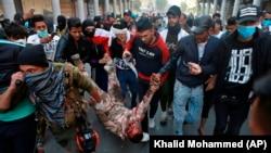 Багдаддагы нааразылык акциялары. 26-ноябрь, 2019-жыл.