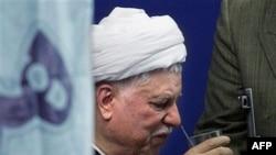 اکبر هاشمی رفسنجانی در مراسم نمازجمعه تهران