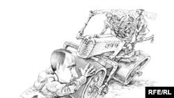 """Михаил Златковский, """"Спасибо В.В.Путину за второй ряд и реверсивное движение на 24-ом километре Ленинградского шоссе"""""""
