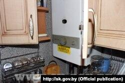 Меркаванае месца працечкі газу ў кватэры суседзяў Анастасіі