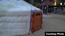 Казахская юрта. Фото участника конкурса Ольги Светловой.