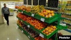 Armenia - A food supermarket in Yerevan.