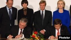 Հայ - թուրքական արձանագրությունների ստորագրումը Շվեյցարիայի Ցյուրիխ քաղաքում, 10-ը հոկտեմբերի, 2009թ.