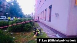 """""""112 Украина"""" телеканалан гIишлонна гранатомет тоьхна Киевехь"""