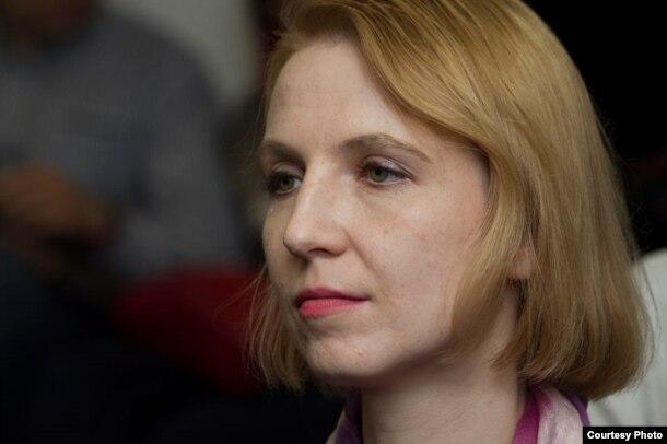 Актывістка бацькоўскай рады Крысьціна Вітушка