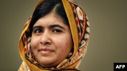 Pakistani teenager Malala Yousafzai, shown here after receiving the International Children's Peace Prize in The Hague (file photo)