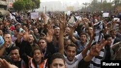 Демонстрация в Каире 29 января