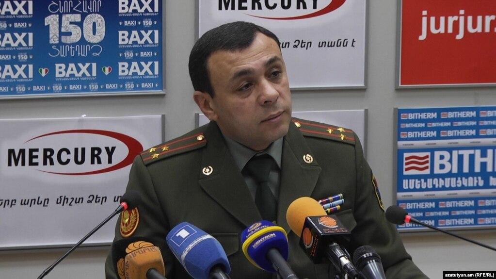 «Нет никакой коррупции»: Камавор Хачатрян о своем увольнении с поста главы Военно-медицинского управления Минобороны Армении