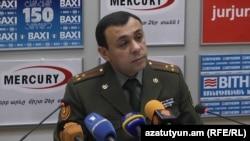 Զինված ուժերի ռազմաբժշկական վարչության պետի Կամավոր Խաչատրյանը: