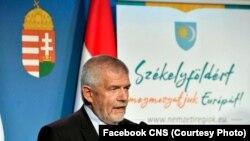 Izsák Balázs, președinte Consiliului Național Secuiesc